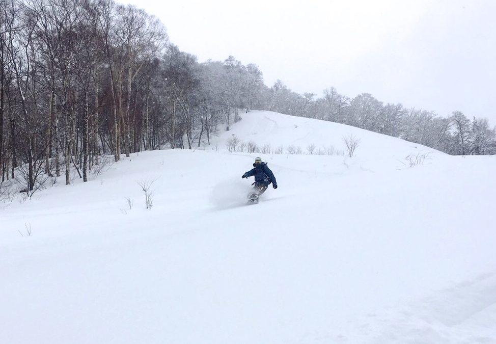 2/11-12 乗鞍岳両面ツアー