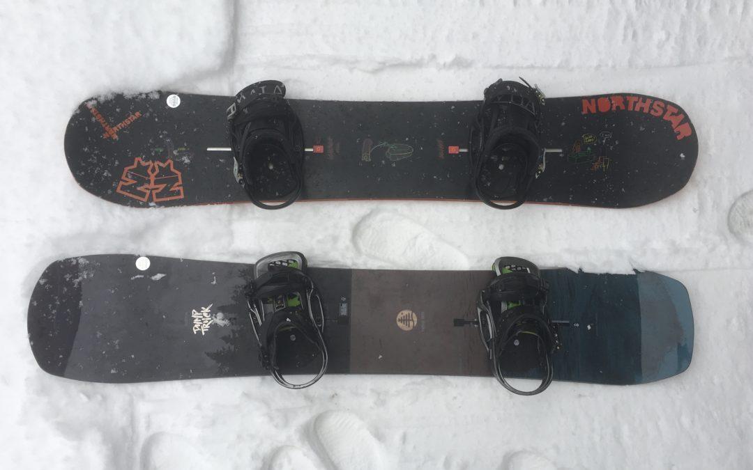 バックカントリー向けスノーボード選び ①
