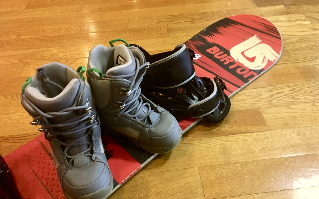 中古BURTONスノーボード&ブーツ販売