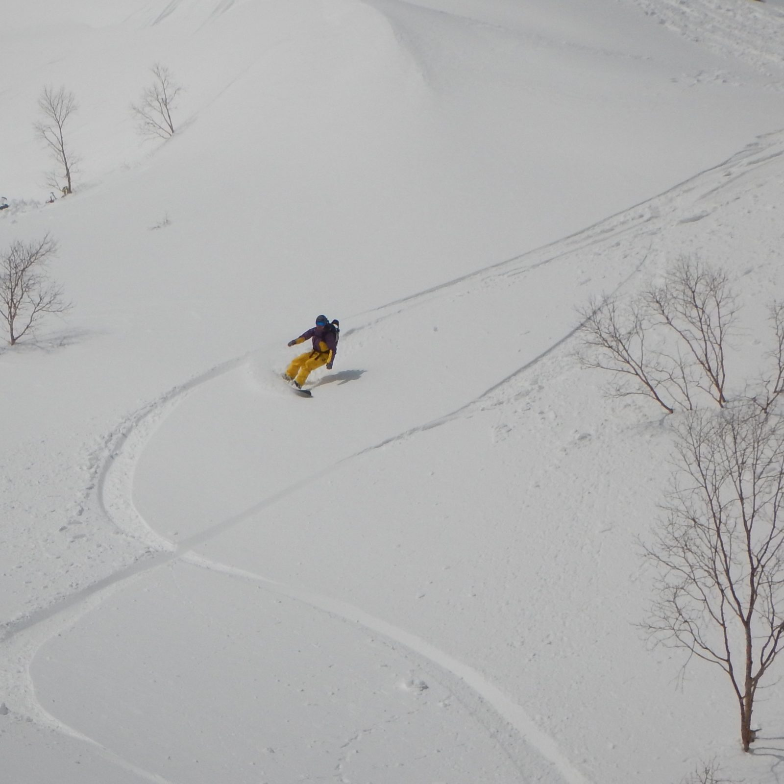 乗鞍岳バックカントリー シークレットルート