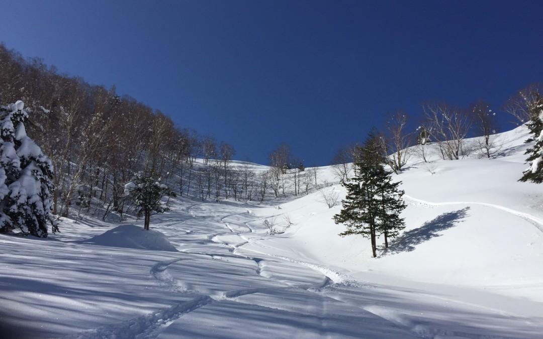 乗鞍岳、平湯エリアバックカントリーツアー