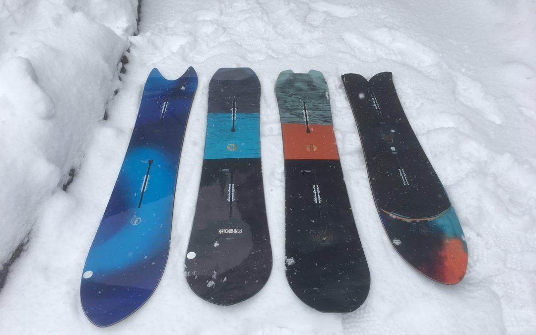 バックカントリー向けスノーボード選び ②